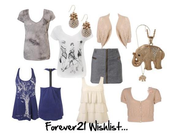 Faith21 Wishlist