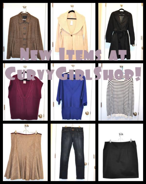 New items at CurvyGirlShop! :)