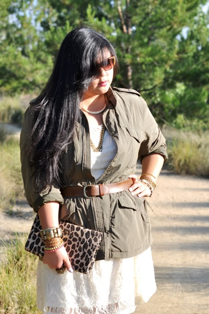 Curvy Girl Chic Summer Layers Plus size Outfit of the Day