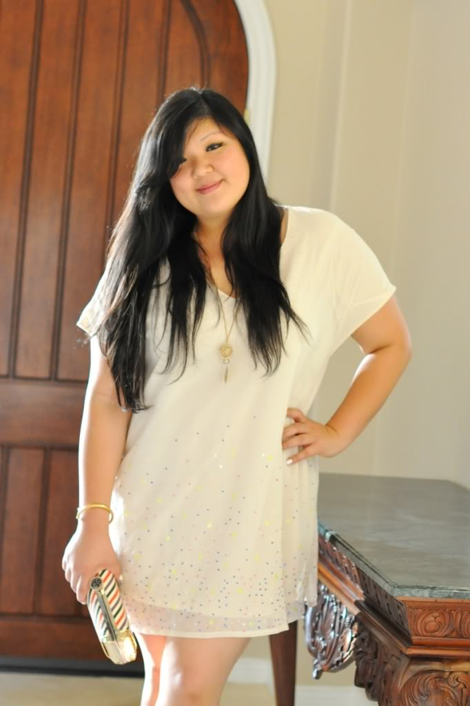 Curvy Girl Chic Plus Size Fashion Blog The Naked Dress Outfit Post