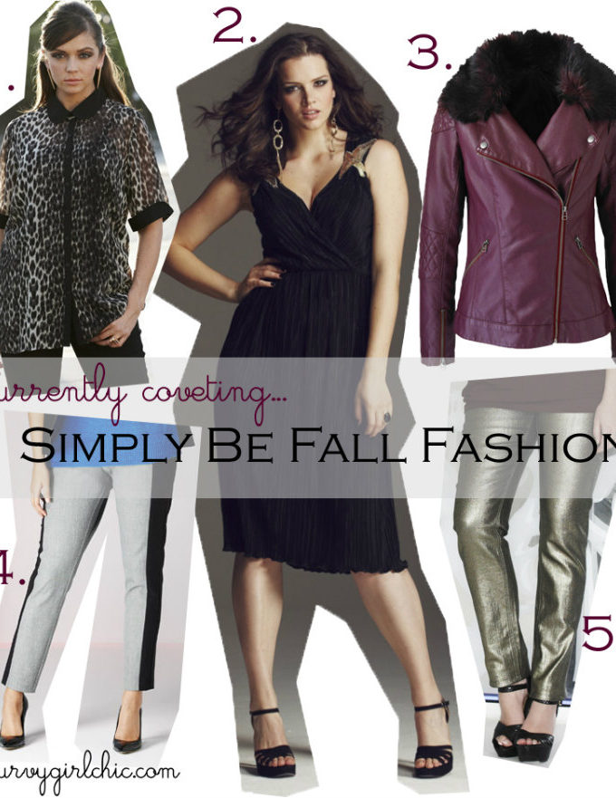 currently coveting: Simply Be Fall Fashion