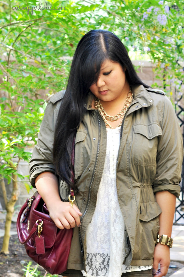 Curvy Girl Chic Plus Size Fashion Blog Outfit of the Day