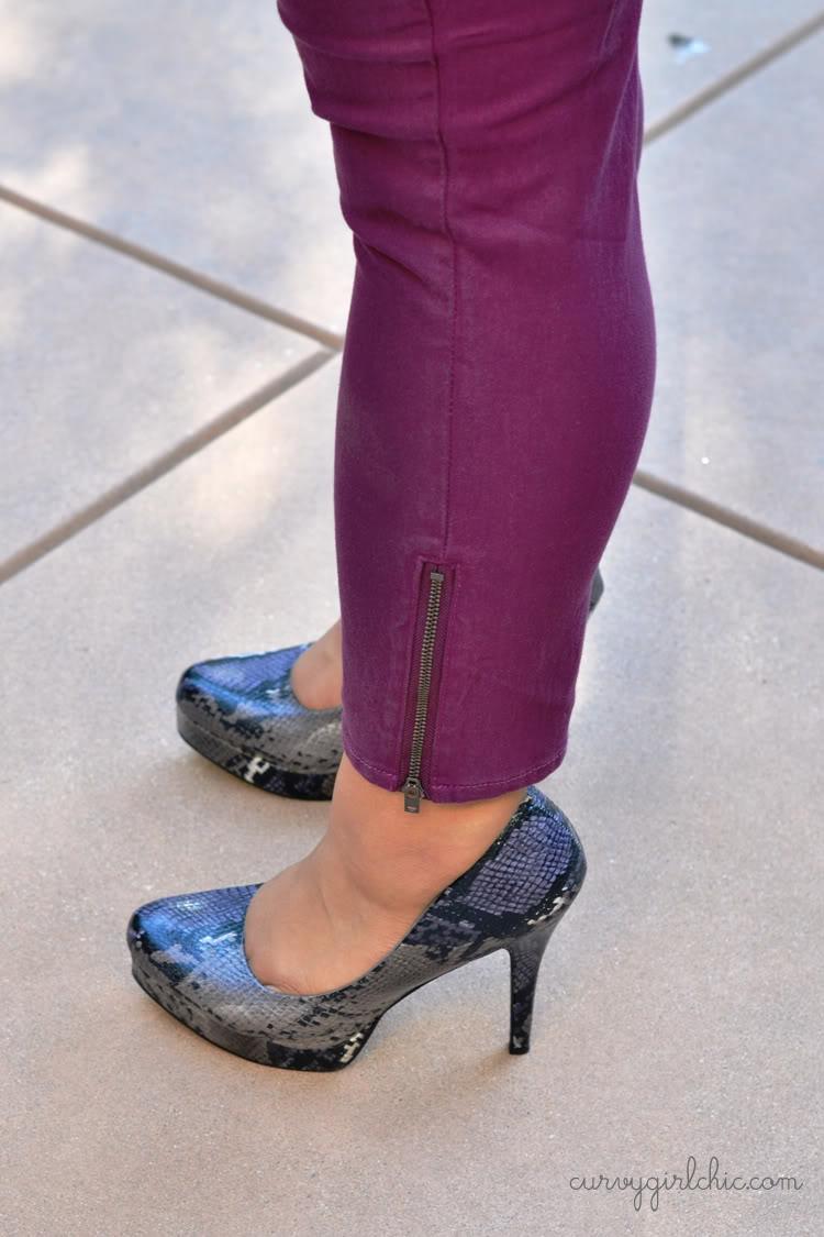 Curvy Girl Chic Plus Size Fashion Blog Torrid Stiletto Skinny Jeans Review