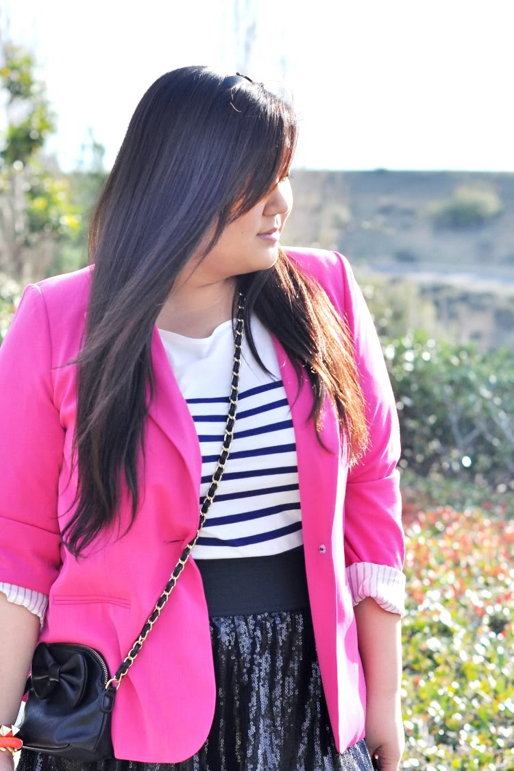 Curvy Girl Chic Plus Size Fashion Blog Outfit of the Day: spring fling