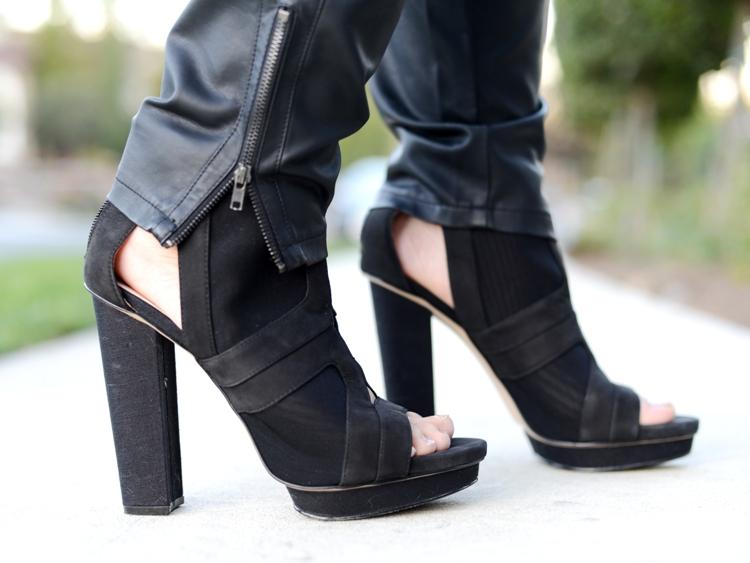Curvy Girl Chic Plus Size Fashion Blog OOTD Calvin Klein Heels