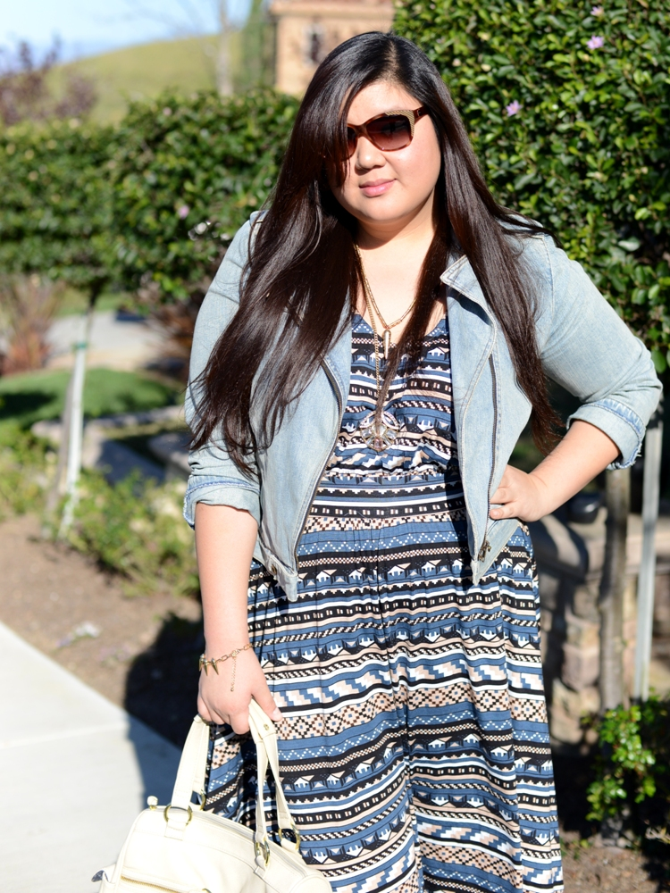 Curvy Girl Chic Plus Size Fashion and Lifestyle Blog - Rachel Pally White Label Everett Dress