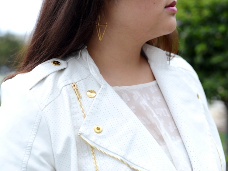 Curvy Girl Chic Plus Size Fashion Blog MYNT 1792 Jacket