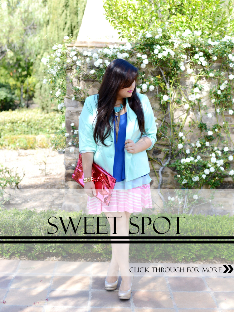 Curvy Girl Chic Plus Size Fashion Blog Sweet Spot