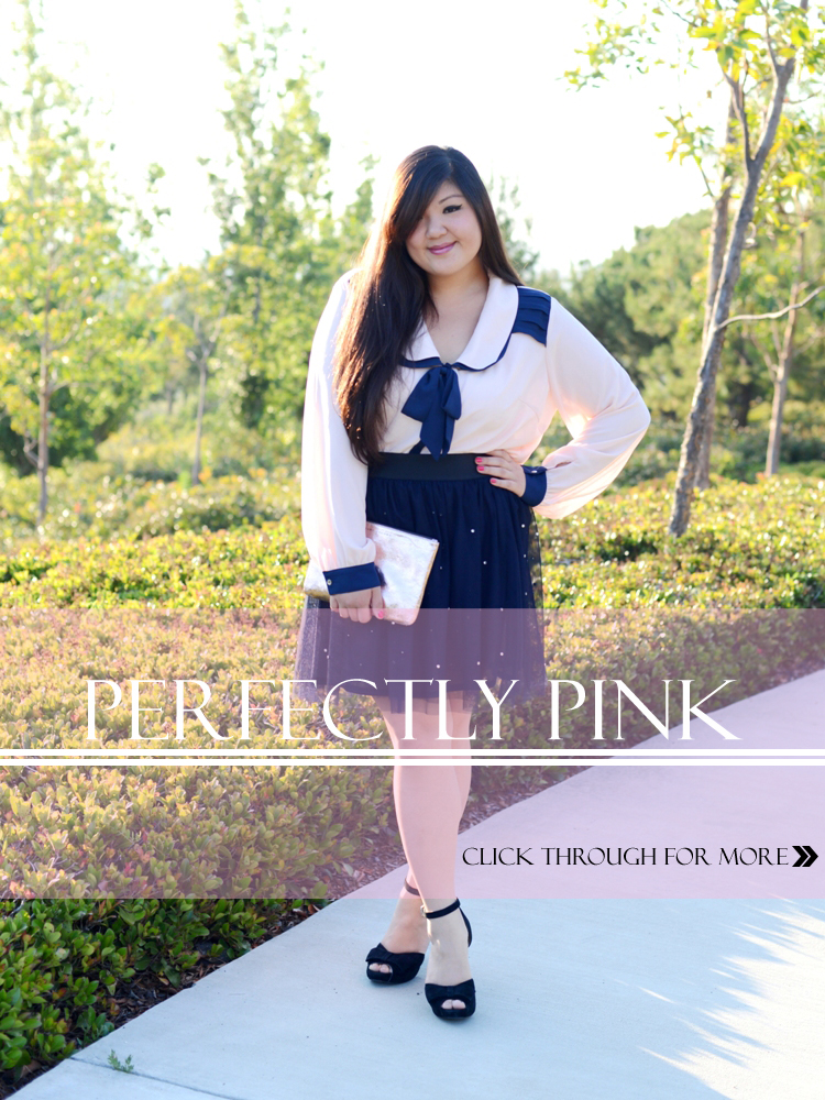 Curvy Girl Chic Perfectly Pink