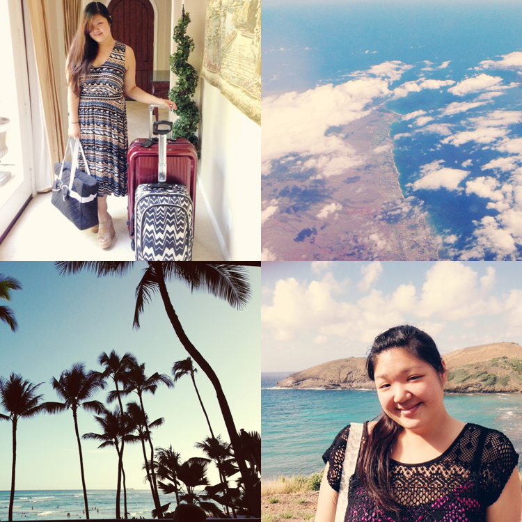 Curvy Girl Chic Travel Hawaii Photo Diary - Travel Look in Rachel Pally
