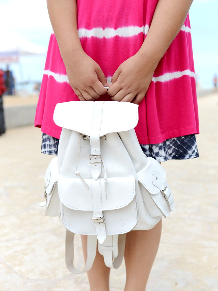 Curvy Girl Chic Plus Size Fashion Blog Grafea Backpack