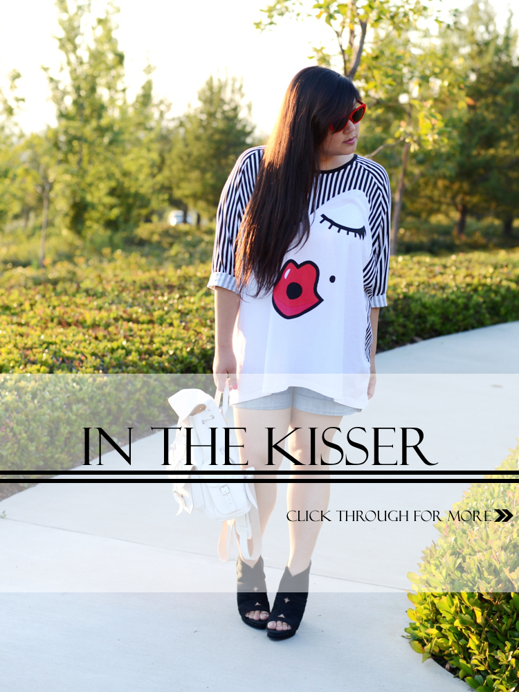IN THE KISSER