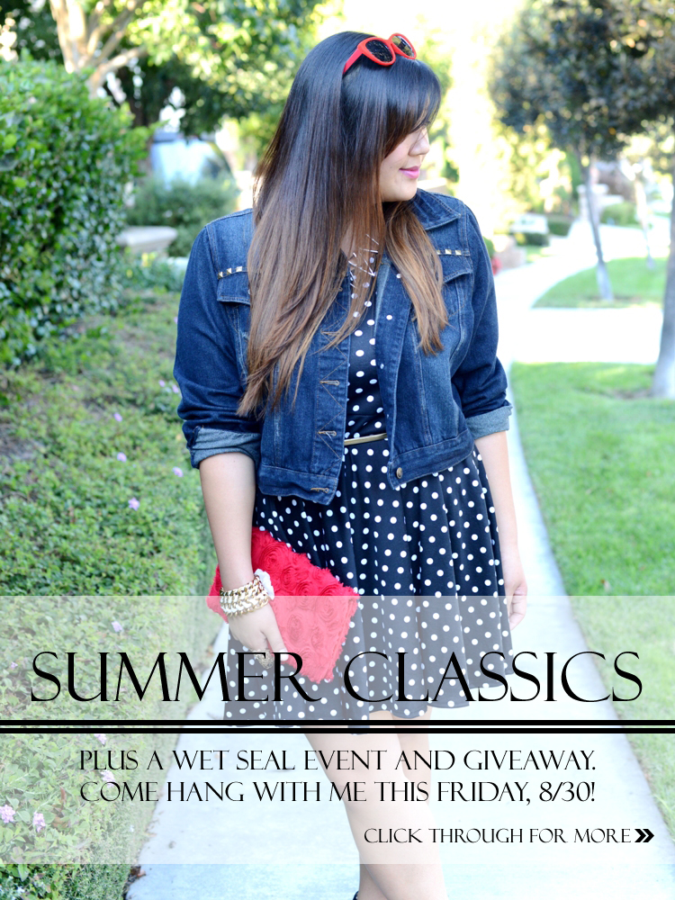 [[summer classics]] wet seal event and $100 giveaway!