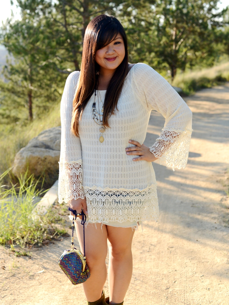 Curvy Girl Chic Plus Size Fashion Blog Umgee Boho Look