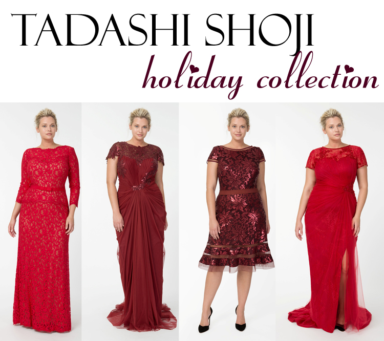 Currently Coveting Tadashi Shoji Holiday Collection Curvy Girl Chic