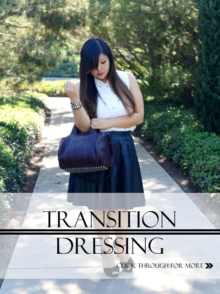 TRANSITION DRESSING