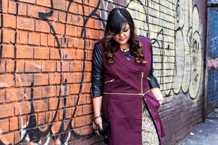 Curvy Girl Chic Plus Size Fashion Blog MYNT1792 Blogger Collaboration Allison Jacket