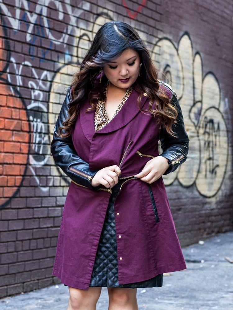 Curvy Girl Chic Plus Size Fashion Blog MYNT1792 Blogger Collaboration Allison Jacket