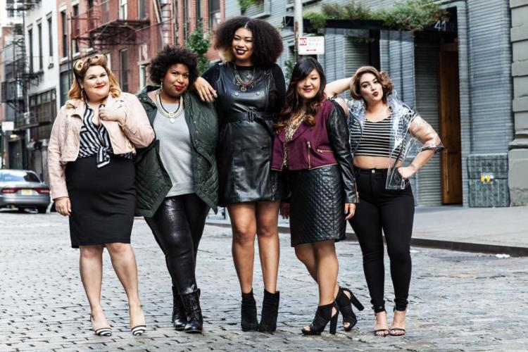 Curvy Girl Chic Plus Size Fashion Blog MYNT 1792 Bloggers Nicolette Mason, Kellie Brown, Franceta Johnson, Allison Teng & Nadia Aboulhosn