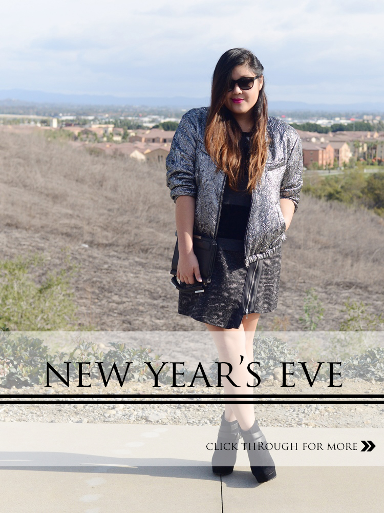 Plus Size Holiday Outfit Idea – What to Wear to a New Years Eve Party