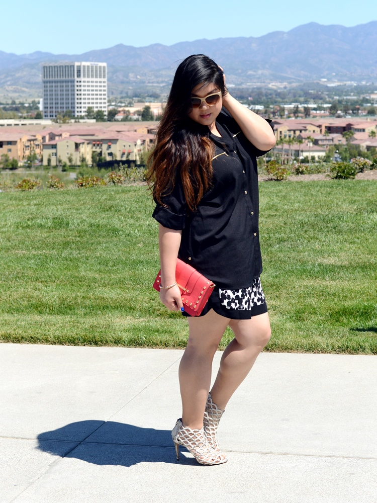 Curvy Girl Chic Plus Size Fashion Blog Zappos Outfit