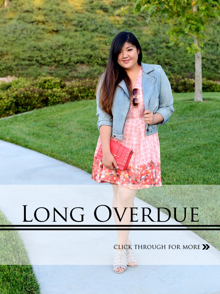 Curvy Girl Chic Plus Size Fashion Blog - Long Overdue - Peter Som for Kohls Dress