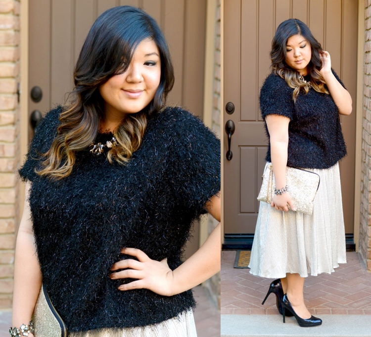Party Time 3 Holiday Party Outfit Ideas Curvy Girl Chic