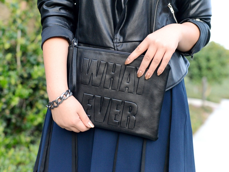 Curvy Girl Chic Plus Size Fashion Blog New Look Whatever Clutch