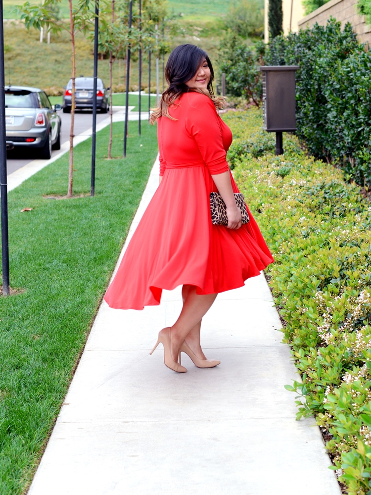 Curvy Girl Chic Plus Size Fashion Blog Tulle Midi Skirt Look
