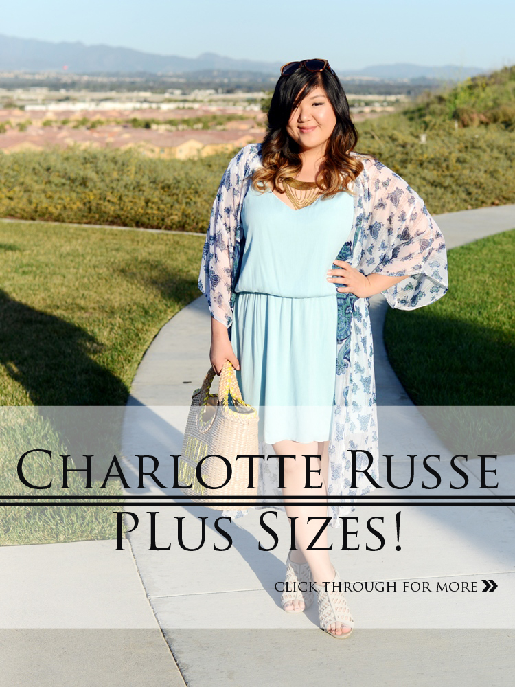 Curvy Girl Chic Plus Size Fashion Blog Charlotte Russe Plus Launch