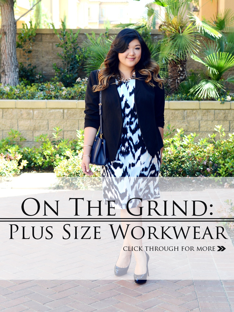 ON THE GRIND: PLUS SIZE WORKWEAR (and a $100 Giveaway!)