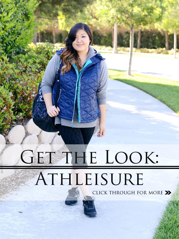 Curvy Girl Chic Plus Size Fashion Blog Kohl's Tekgear Plus Athleisure