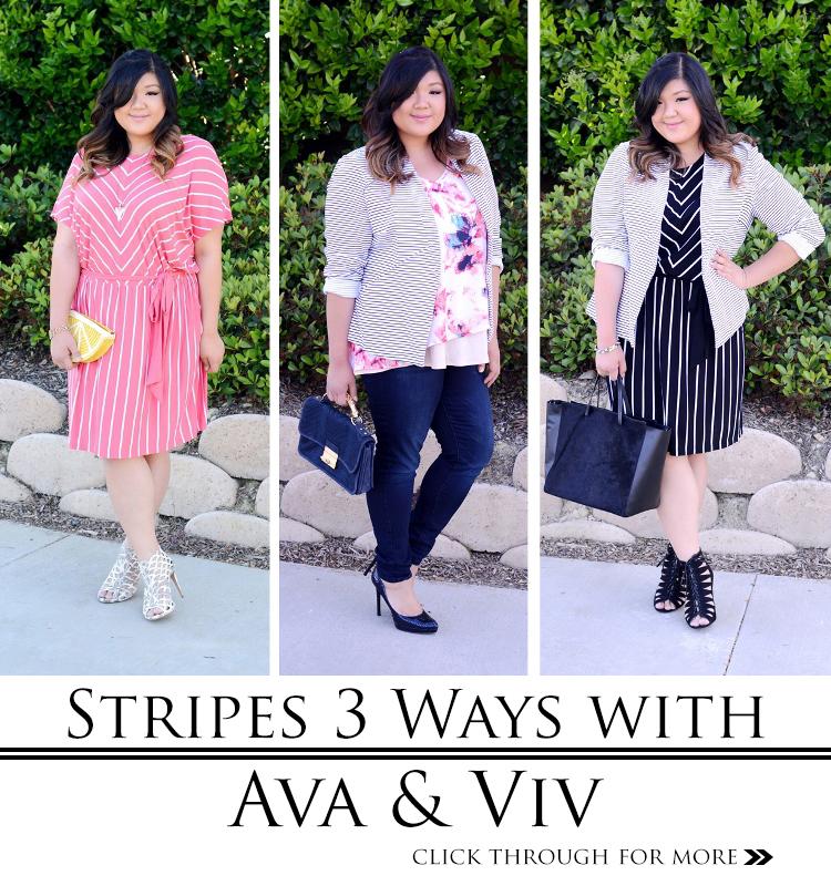 STRIPES THREE WAYS WITH AVA & VIV