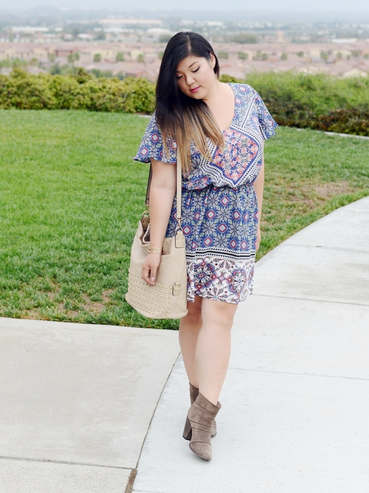 Curvy Girl Chic Plus Size Fashion Blog Charlotte Russe Summer Dress