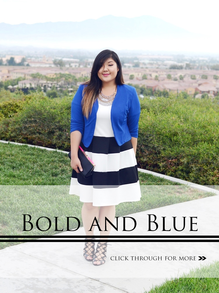BOLD AND BLUE