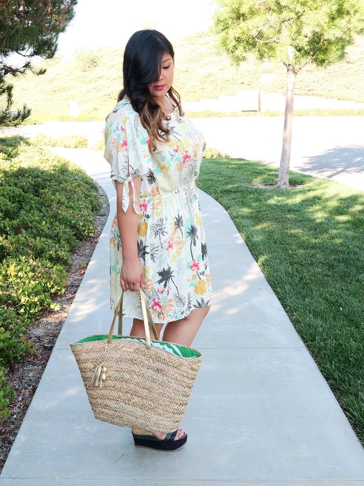 Curvy Girl Chic Plus Size Fashion Blog COREY Dress Gwynnie Bee