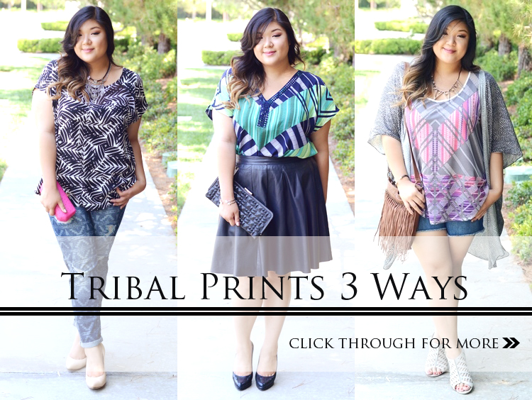 TRIBAL PRINTS 3 WAYS: From Basics to Statements