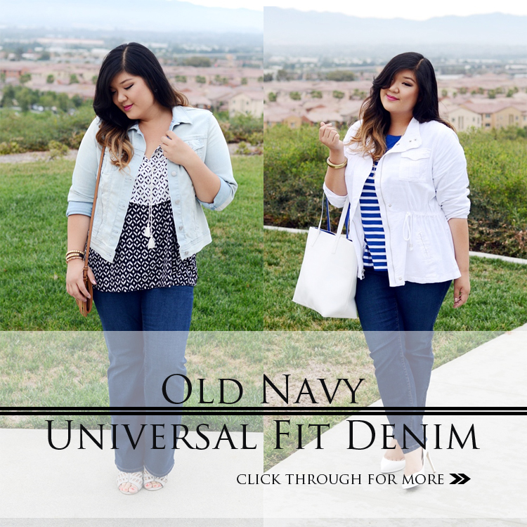 OLD NAVY UNIVERSAL FIT DENIM