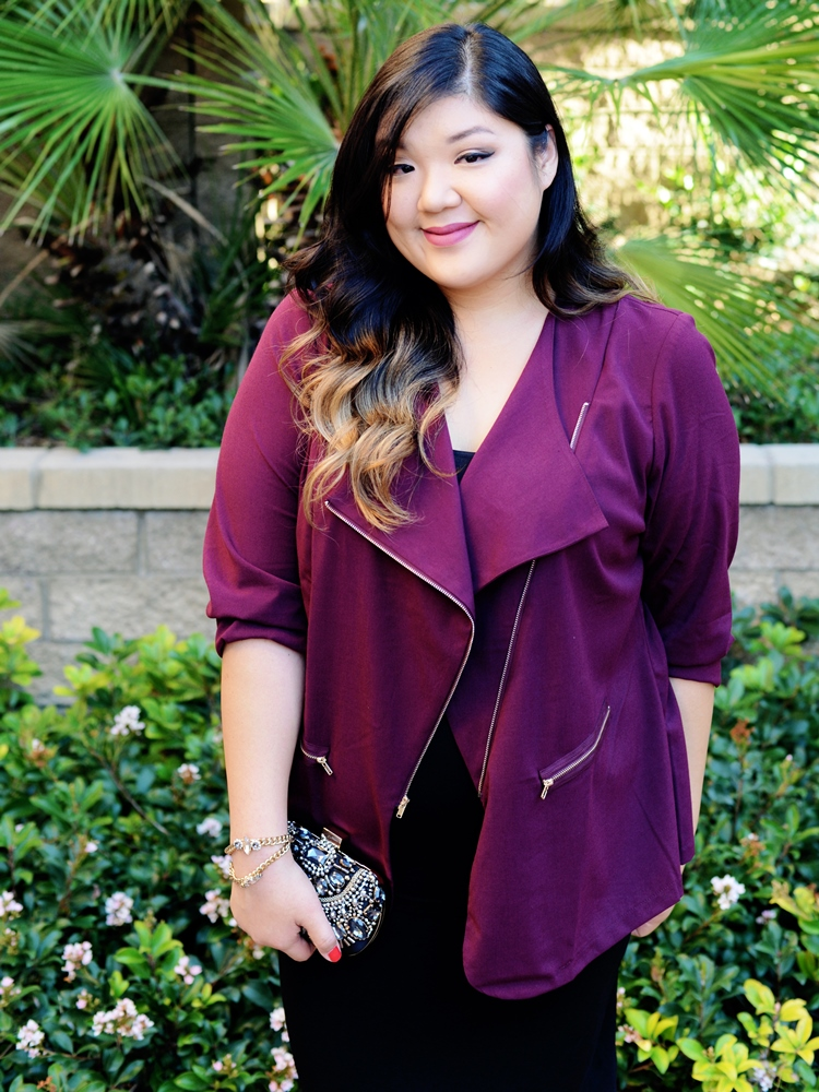 Curvy Girl Chic Plus Size Fashion Blog Charlotte Russe Workwear to Date Night Look