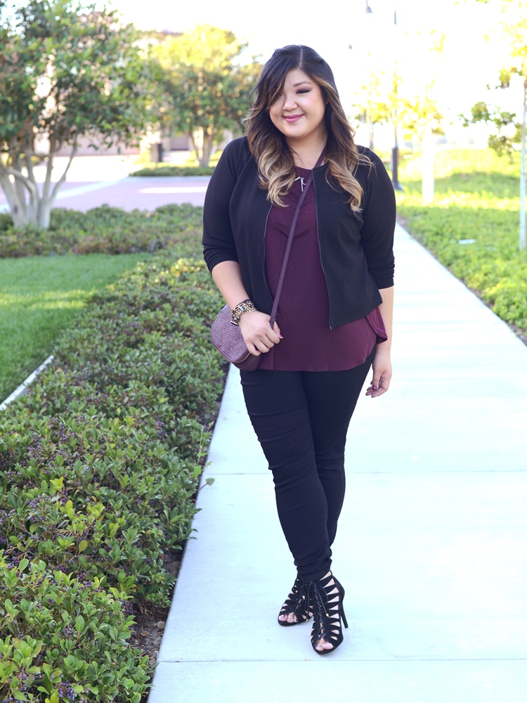 Curvy Girl Chic Plus Size Fashion Blog Kohl's Fall Look