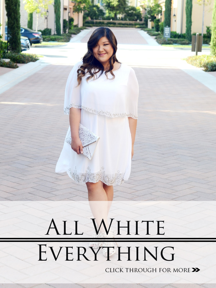 All White Everything Curvy Girl Chic