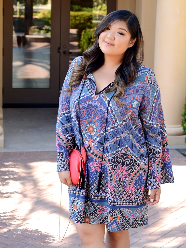 Allison Teng Curvy Girl Chic Plus Size Fashion Blog Single Dress Taryn Tunic