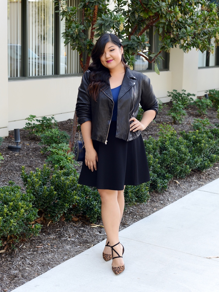 photo Fit for Me Tank Leather Jacket Skater Skirt Look 3.jpg