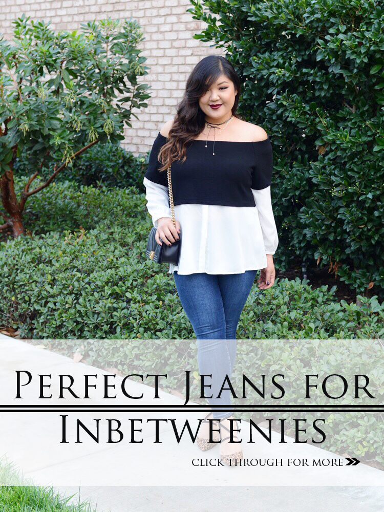 THE PERFECT JEANS FOR INBETWEENIES