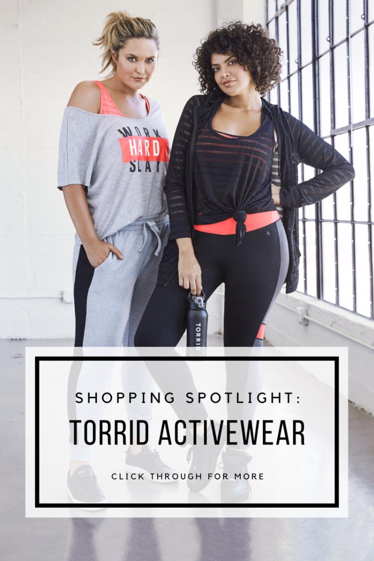 SHOPPING SPOTLIGHT: TORRID ACTIVE WEAR