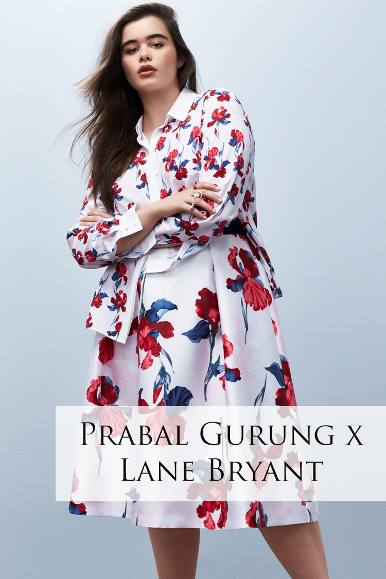 SHOPPING SPOTLIGHT: PRABAL GURUNG x LANE BRYANT COLLECTION