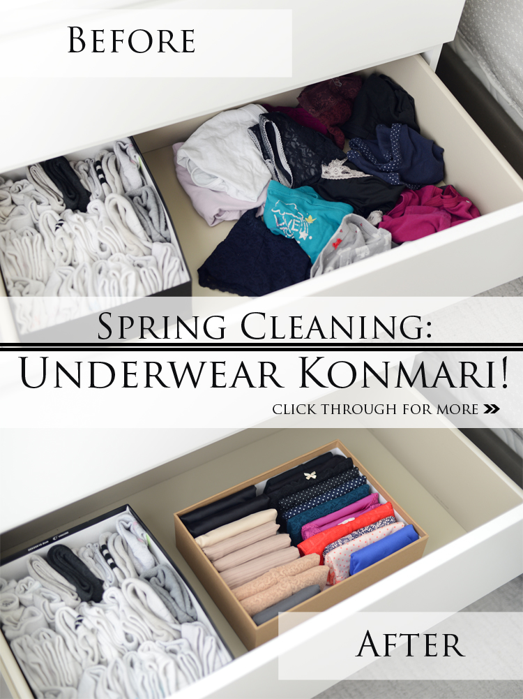 SPRING CLEANING: UNDERWEAR DRAWER REVAMP
