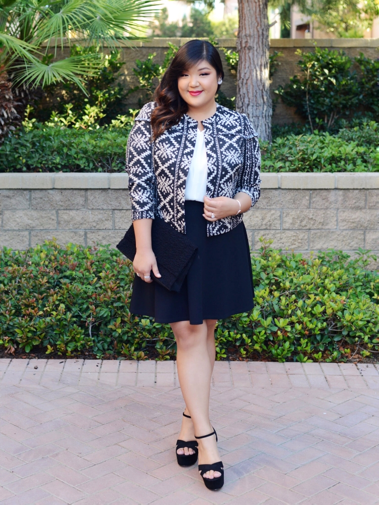 Curvy Girl Chic Who What Wear Plus Size Tribal Jacket