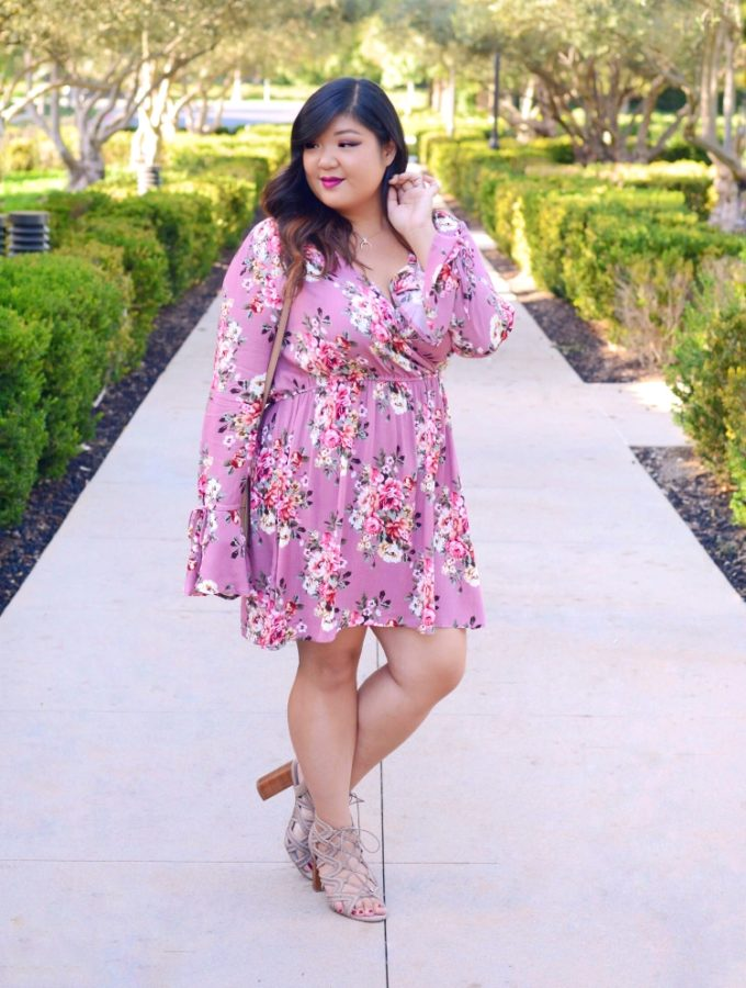 #OOTDOctober 14: ASOS CURVE PINK FLORALS