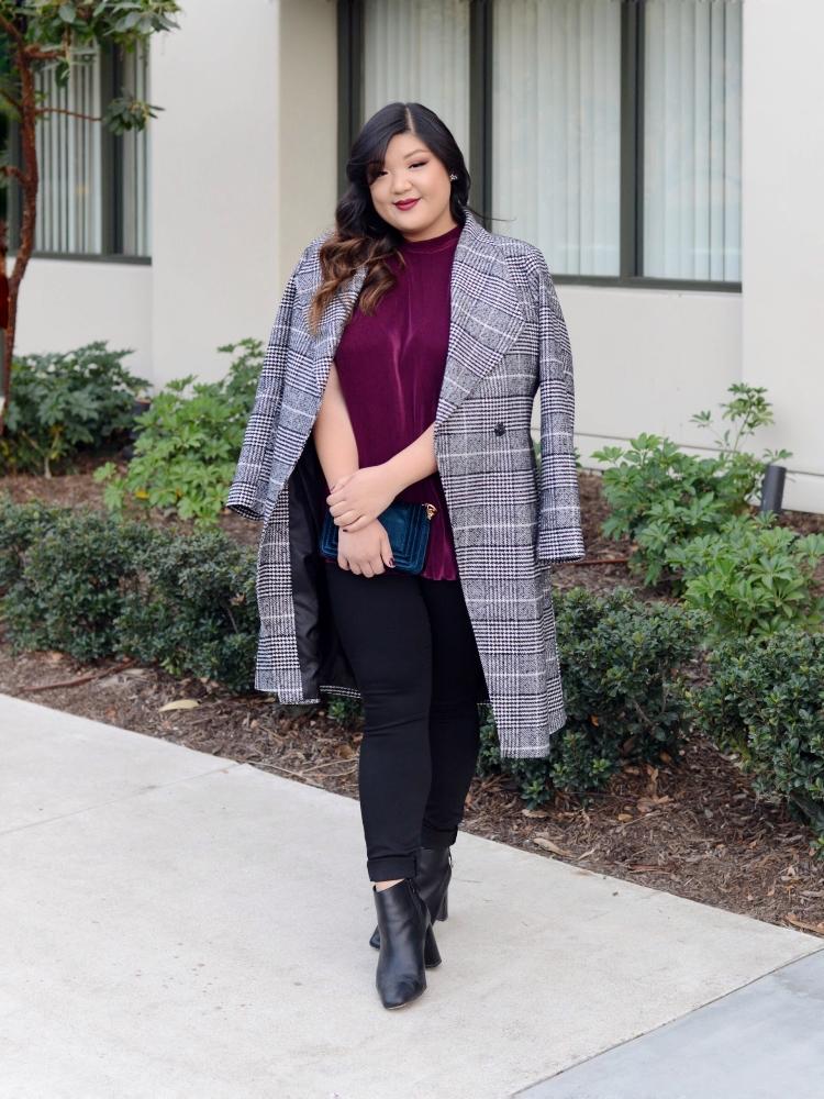 Curvy Girl Chic Stitch Fix Plus Size Pants Menswear Outfit Idea